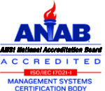 ANAB Accredited - ISO/IEC 17021 - Management Systems Certification Body